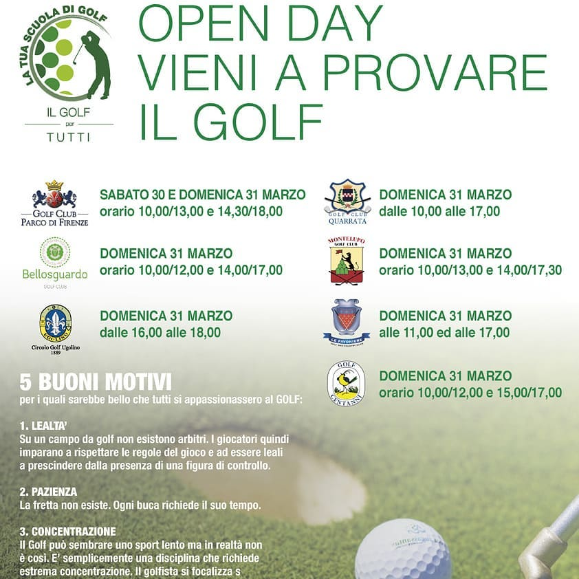 LOCANDINA GOLF DAY